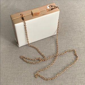 White small purse